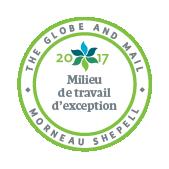 Milieu de travail d'exception en 2017