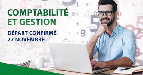 Départ confirmé - AEC Comptabilité et gestion