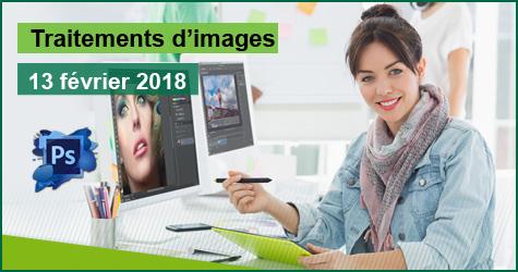 L'image manipulée en quelques clics grâce à Adobe Photoshop