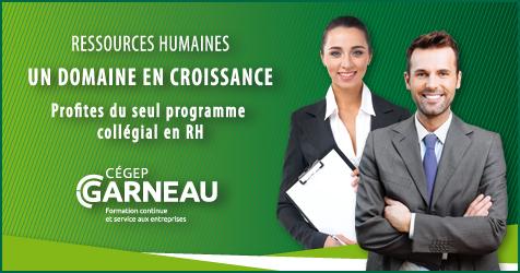 Ressources humaines - un domaine en croissance!
